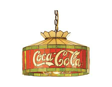 Meyda Tiffany Coca-Cola Six-Light Pendant