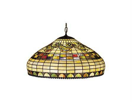 Meyda Tiffany Edwardian Three-Light Pendant