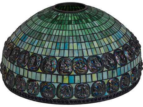 Meyda Lighting Turtleback Double Belted 26'' Wide Shade
