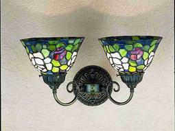 Meyda Tiffany Rosebush Two-Light Wall Sconce