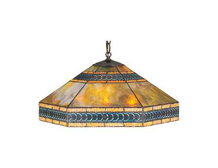 Meyda Tiffany Cambridge Three-Light Pendant