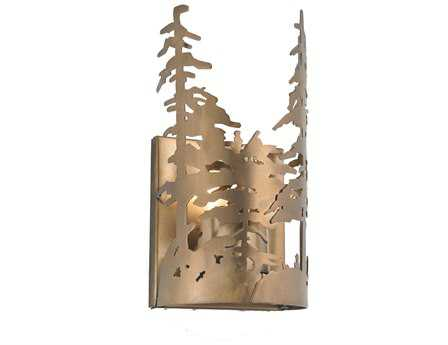 Meyda Tiffany Tall Pines Wall Sconce