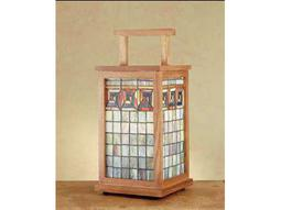 Meyda Tiffany Greek Key Wood Frame Lantern Shadowbox
