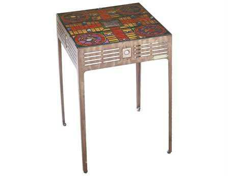 Meyda Tiffany 17 Square Parcheesi Table