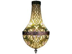 Meyda Tiffany Grand Morning Glory Six-Light Pendant