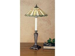 Meyda Tiffany Jadestone Carousel Multi-Color Buffet Lamp