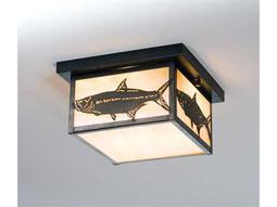 Meyda Tiffany Tarpon Two-Light Flush Mount Light