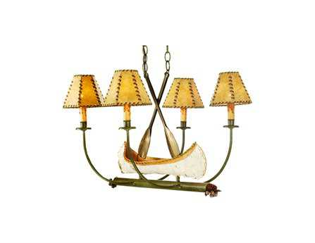 Meyda Tiffany Canoe Four-Light Mini Chandelier