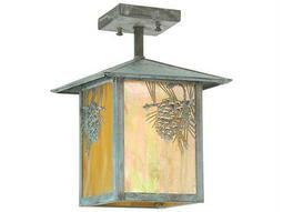 Meyda Tiffany Seneca Winter Pine Mini-Pendant