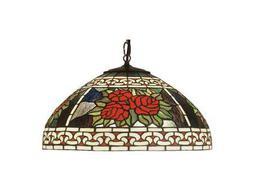 Meyda Tiffany Roses & Scrolls Pendant
