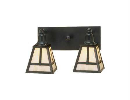 Meyda Tiffany T Mission Two-Light Vanity Bar Light