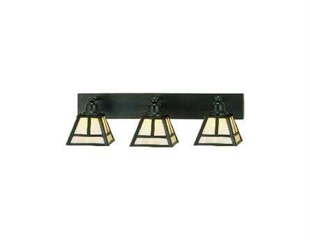 Meyda Tiffany T Mission Three-Light Vanity Light