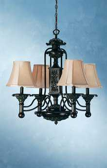 Meyda Tiffany Eaton Four-Light 30 Wide Chandelier