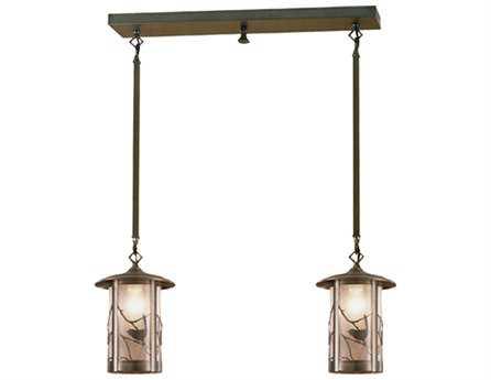 Meyda Tiffany Fulton Song Bird Two-Light Island Light