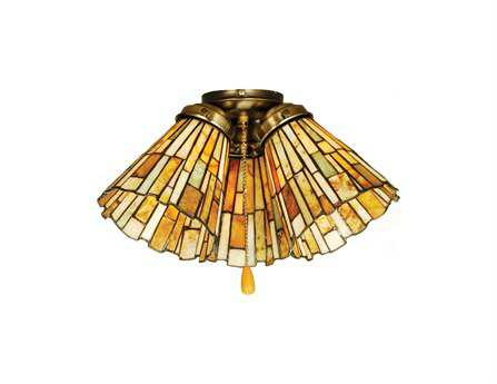 Meyda Tiffany Jadestone Delta Fan Light Shade