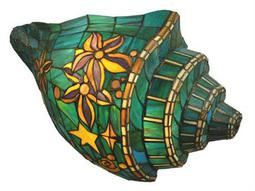 Meyda Tiffany Seashell Conch Two-Light Wall Sconce