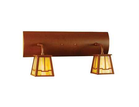 Meyda Tiffany Bungalow Valley View Two-Light Vanity Light