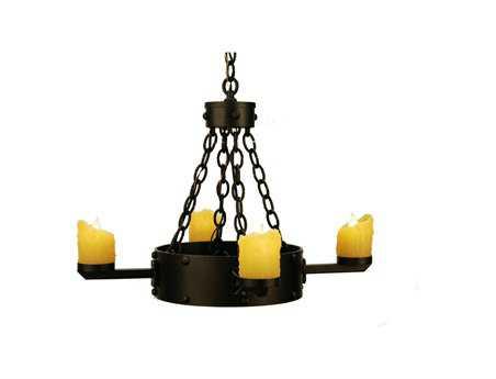 Meyda Tiffany Kingston Four-Light 24 Wide Mini Chandelier