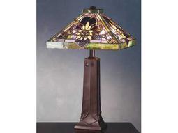 Meyda Tiffany Solstice Multi-Color Table Lamp