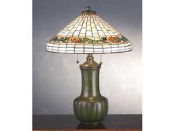 Meyda Tiffany Bungalow Pine Cone Multi-Color Table Lamp