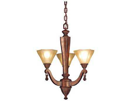 Meyda Tiffany Oakland & Three-Light 20 Wide Chandelier