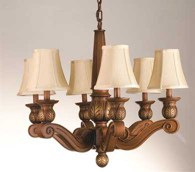 Meyda Tiffany Kendall Six-Light Grand Chandelier