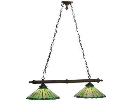Meyda Tiffany Caprice Two-Light Island Light