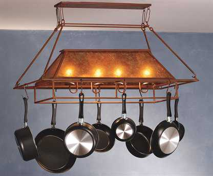 Meyda Tiffany Simple Mission Two-Light Pot Rack