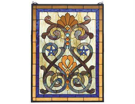 Meyda Tiffany Mandolin Stained Glass Window