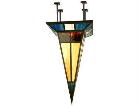Meyda Tiffany Polaris Semi-Flush Mount Light