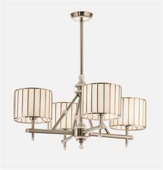 Meyda Tiffany Revolution Four-Light 30 Wide Chandelier