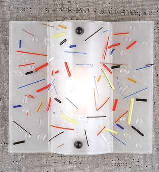 Meyda Tiffany Circus Fused Glass Wall Sconce