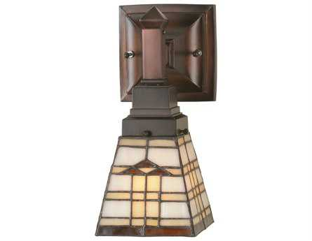 Meyda Tiffany Arrowhead Mission Wall Sconce
