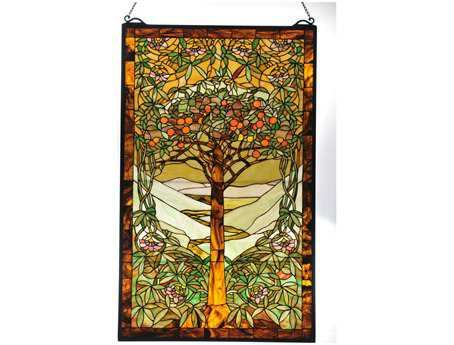 Meyda Tiffany Tree of Life Stained Glass Window
