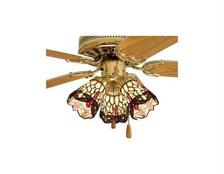 Meyda Tiffany Hanginghead Dragonfly Fan Light Shade