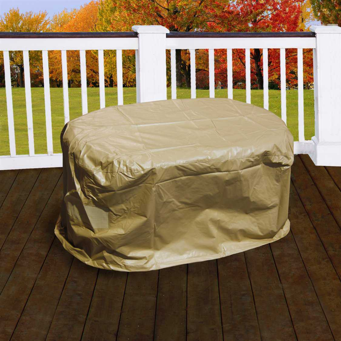 Forever Patio Hampton Coffee Table Cover Ncfphamctfc