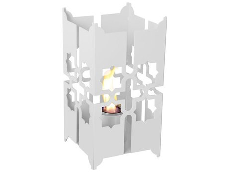 Forever Patio Tripoli Large Lantern In White