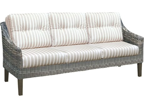 Forever Patio Quick Ship Aberdeen Rye Wicker Sofa
