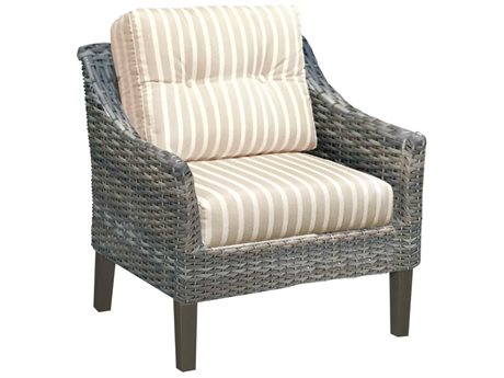 Forever Patio Quick Ship Aberdeen Rye Wicker Lounge Chair