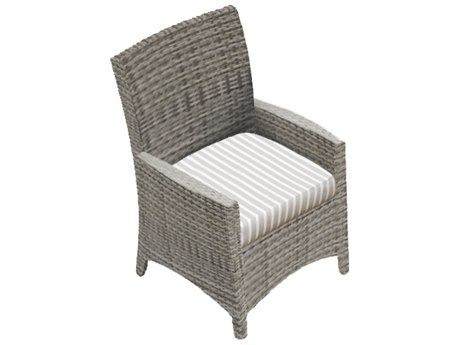 Forever Patio Quick Ship Aberdeen Rye Wicker Dining Chair PatioLiving