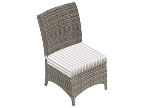 Forever Patio Quick Ship Aberdeen Armless Dining Chair Replacement Cushions