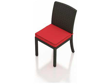 Forever Patio Barbados Wicker Cushion Dining Side Chair