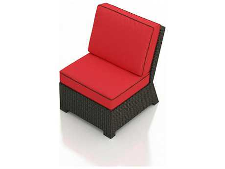 Forever Patio Quick Ship Barbados Sectional Middle Chair Replacement Cushions