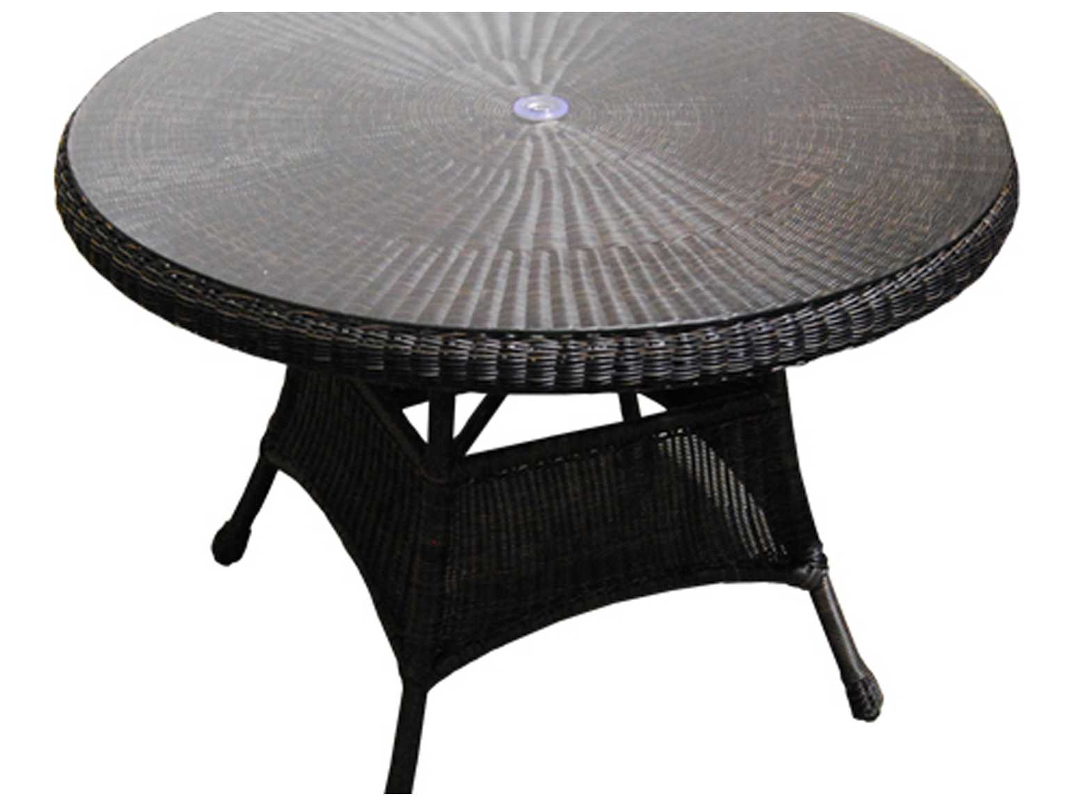 Forever Patio Catalina 42 Round K D Dining Table With