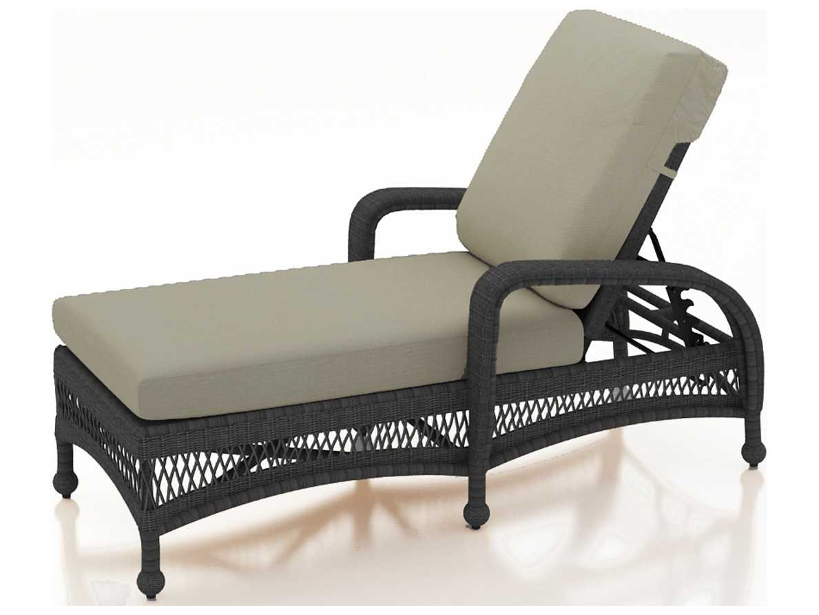 forever patio catalina wicker single adjustable chaise. Black Bedroom Furniture Sets. Home Design Ideas