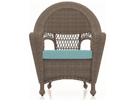 Forever Patio Quick Ship Catalina Heather Wicker Dining Chair PatioLiving