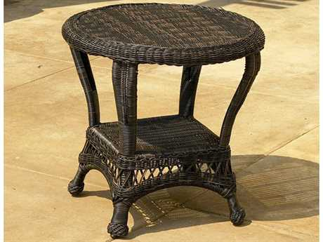 Forever Patio Catalina Wicker 23 Round End Table