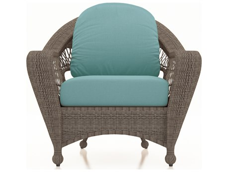 Forever Patio Quick Ship Catalina Heather Wicker Lounge Chair PatioLiving