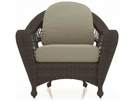 Forever Patio Quick Ship Catalina Sable Round Wicker Lounge Chair