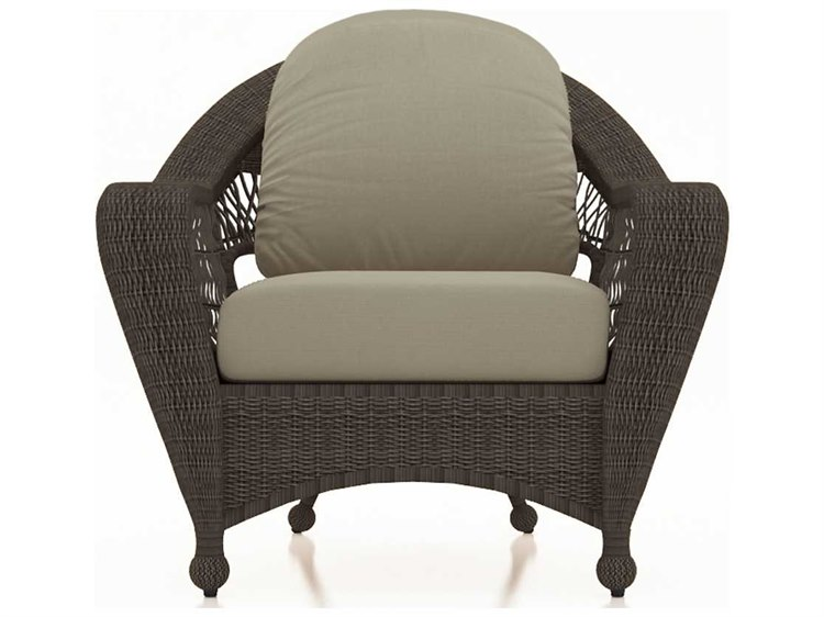 Forever Patio Catalina Sable Round Wicker Lounge Chair
